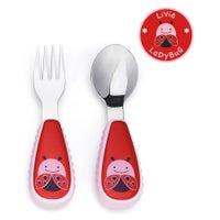 Skip Hop Zoo Fork & Spoon Set 801013003