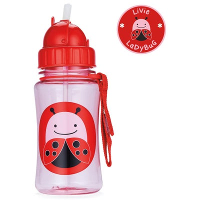 Skip Hop Zoo Straw Bottle 801138004