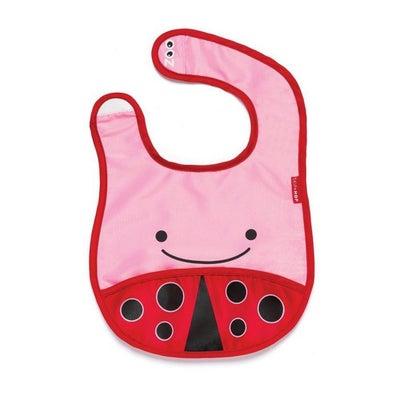 Skip Hop Zoo Tuck-Away Bib - Ladybug 803093