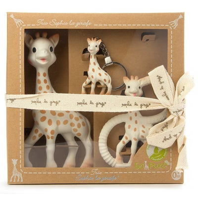 Sophie The Giraffe Gift Box Trio 803573