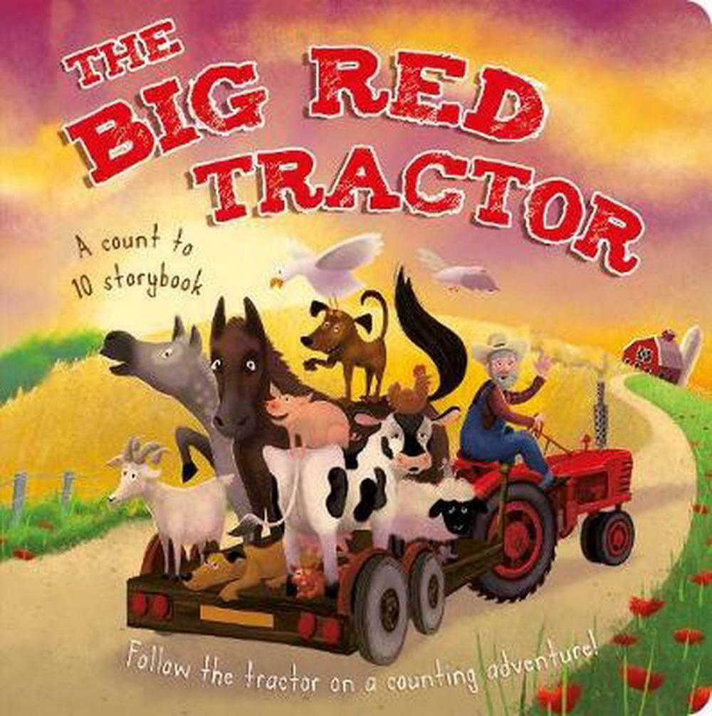 The Big Red Tractor Book 807107