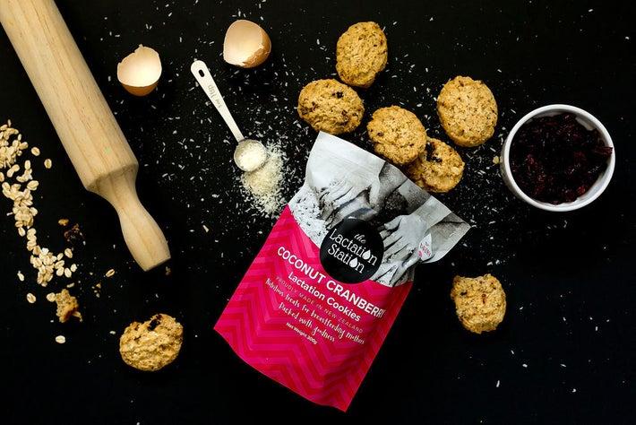 The Lactation Station Coconut/Cranberry Cookies 806458
