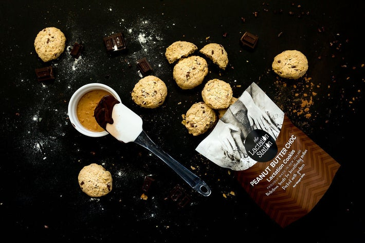 The Lactation Station Peanut Butter Cookies 806899
