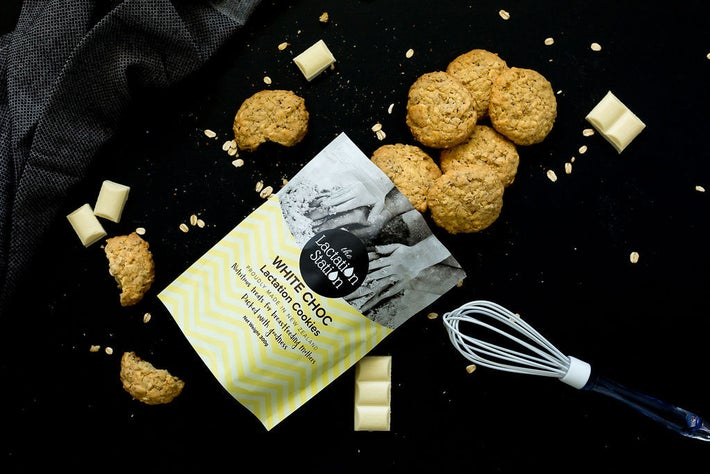The Lactation Station White Chocolate Cookies 806457