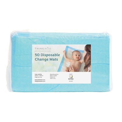 Think Wise Disposable Change Mats 50PK 807305