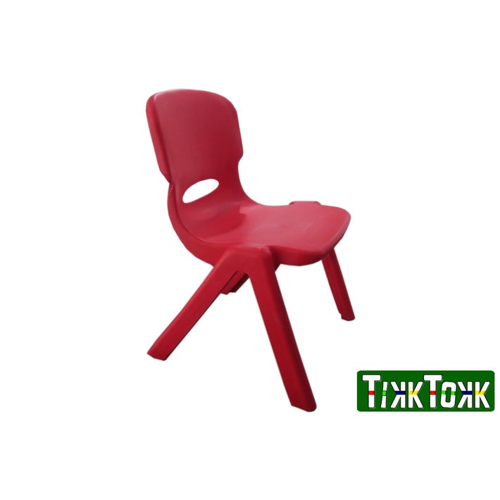 TikkTokk Resin Chair - Red 803354