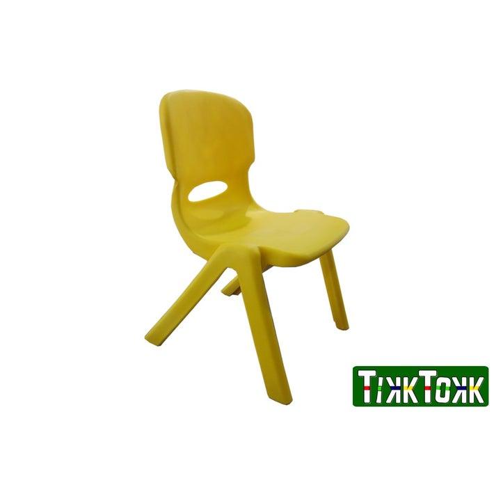 TikkTokk Resin Chair - Yellow 803357