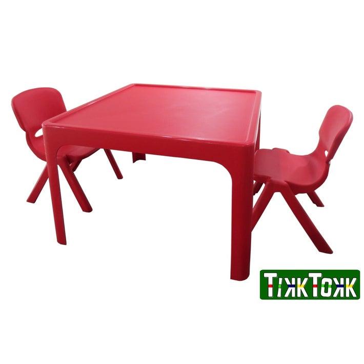 TikkTokk Resin Table - Red 803358