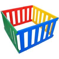 TikkTokk Nanny Panel Playpen - Colours 800277