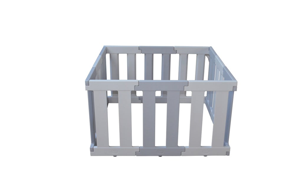 Tikk Tokk Nanny Panel Playpen- Grey 807018