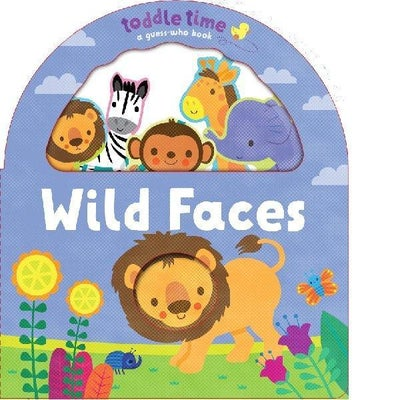 Toddle Time - Wild Faces Book 806762