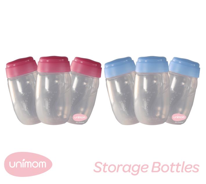 Unimom Breastmilk Storage Bottles 3pk 807243001