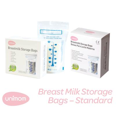 Unimom Breastmilk Storage Bags 60pk 807239