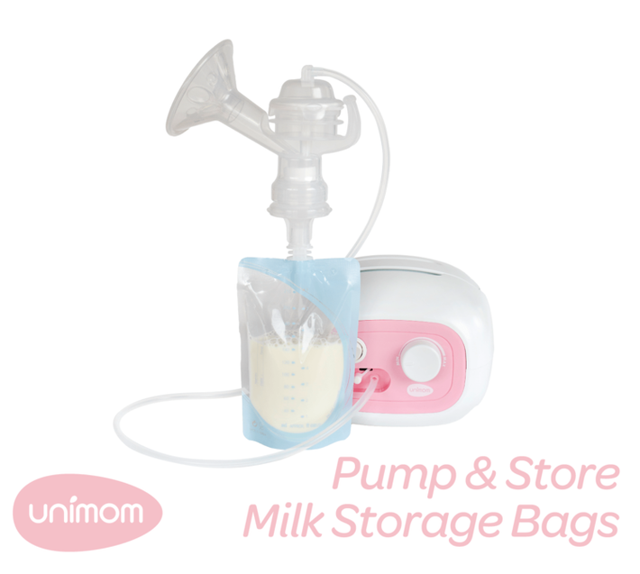 Unimom Pump&Store Bags With Adpater 10pk 807240