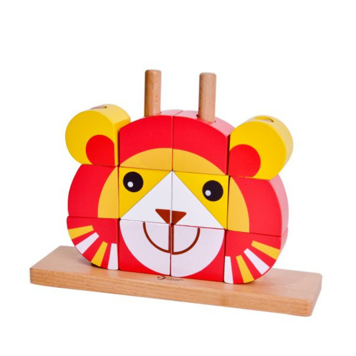 Wooden Lion Uni Blocks 807679